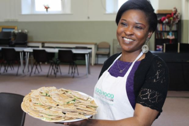 Healthy eating cookery club in Southwark